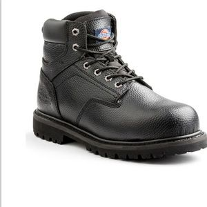 e5d60c011b2 Dickies Shoes | Mens Leather Steel Toe Boots Truxx Work | Poshmark